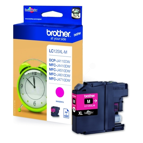Cartouche d'encre Brother LC-125XLM