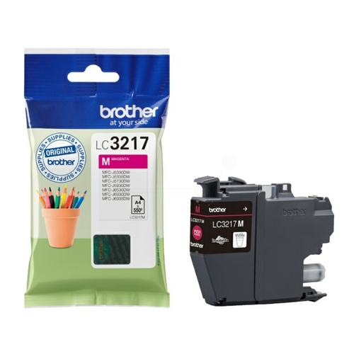 Cartouche d'encre Brother LC-3217M