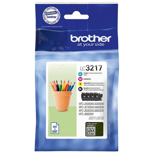 Cartouche d'encre Brother LC-3217VALDR